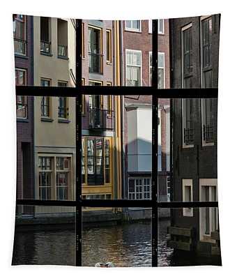 Swans Love Amsterdam Tapestry