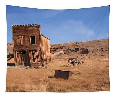 Swazey Hotel Bodie Ghost Town Tapestry