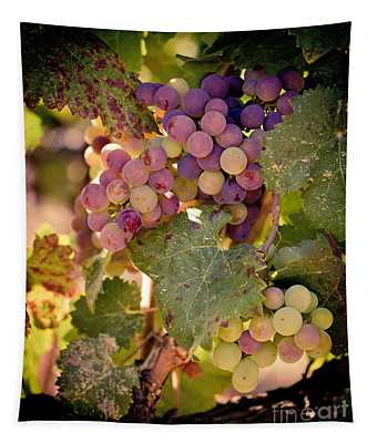 Sweet Grapes Tapestry