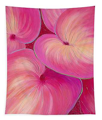 Tapestry featuring the painting Sweet Tarts II by Sandi Whetzel