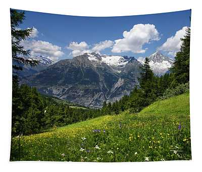 Switzerland Bietschhorn Tapestry
