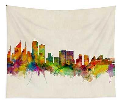Sydney Skyline Tapestry