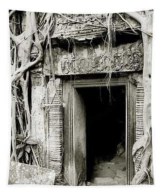 Ta Prohm Doorway Tapestry