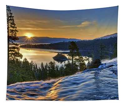 Tahoe Sunrise Tapestry