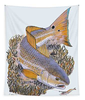 Tailing Redfish Tapestry