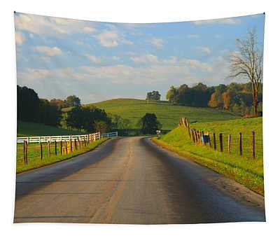 Take A Back Road Tapestry