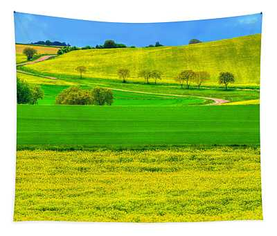 Take Me Home Country Road Tapestry