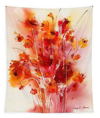 Tangerine Tango Tapestry