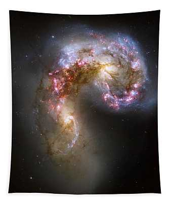 Tangled Galaxies Tapestry