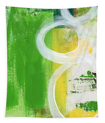 Tango- Abstract Painting Tapestry
