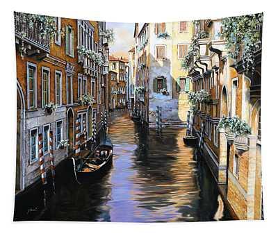 Tanta Luce A Venezia Tapestry