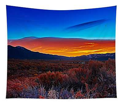 Taos Sunrise X Tapestry