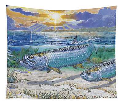 Tarpon Cut In0011 Tapestry