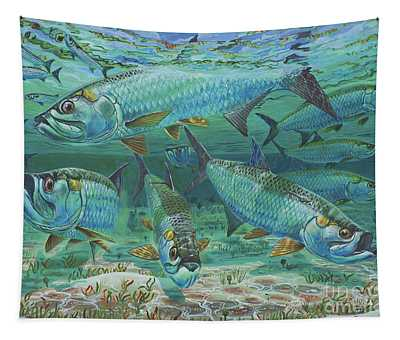 Tarpon Rolling In0025 Tapestry