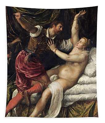 Tarquin And Lucretia, C.1568-76 Tapestry
