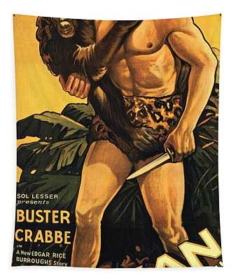 Tarzan The Fearless  Tapestry
