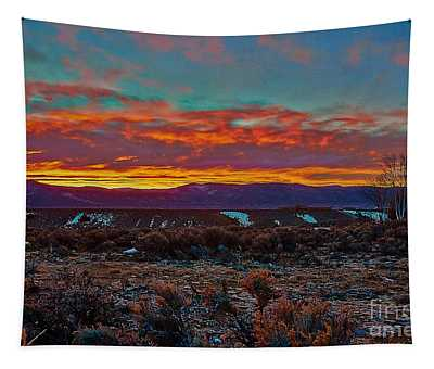 Taos Sunrise Tapestry