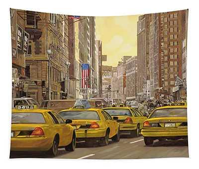 New York Taxi Wall Tapestries