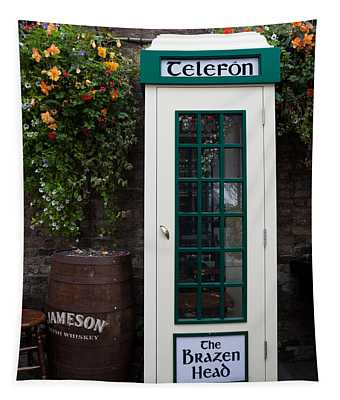Telephone Kiosk, The Brazen Head Pub Tapestry