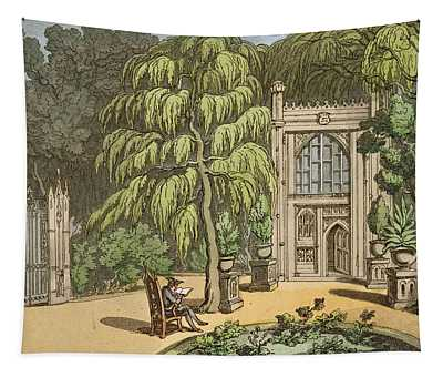 Temple At Strawberry Hill Tapestry