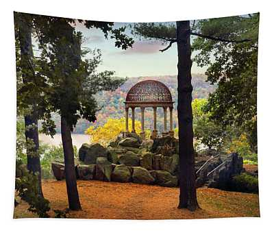 Tapestry featuring the photograph Temple Of Love In Autumn by Jessica Jenney