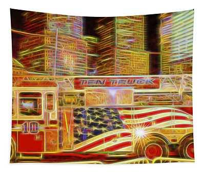 Ten Truck Tapestry