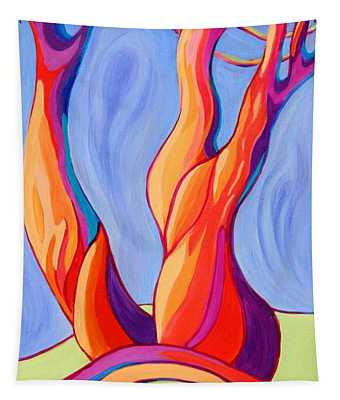 Tapestry featuring the painting Terpsichore Tribute by Sandi Whetzel