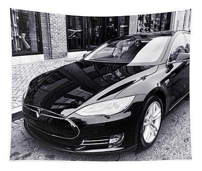 Tesla Model S Tapestry
