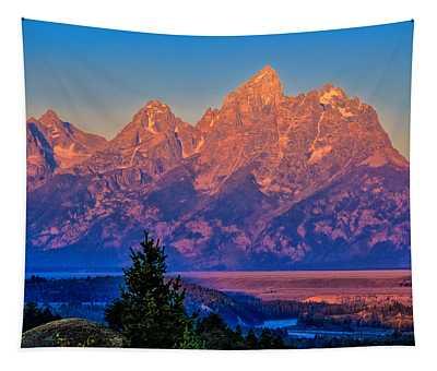 Teton Peaks Tapestry