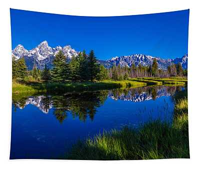Teton Reflection Tapestry