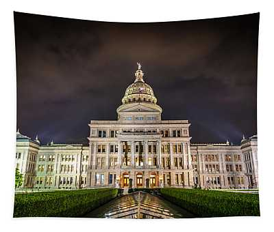 Texas Capitol Building Tapestry