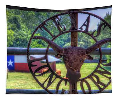 Texas Longhorns Tapestry