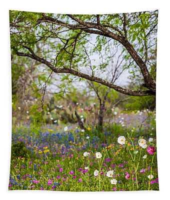 Texas Roadside Wildflowers 732 Tapestry