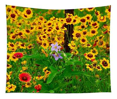 Texas Spring Delight Tapestry