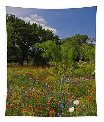 Texas Spring Spectacular Tapestry