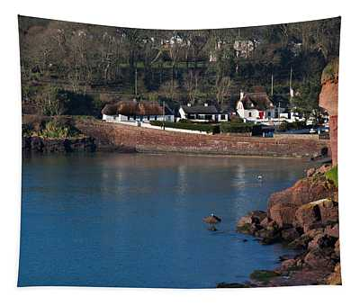 Thatched Cottages, Dunmore Strand Tapestry