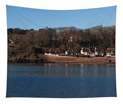 Thatched Cottages In A Town, Dunmore Tapestry