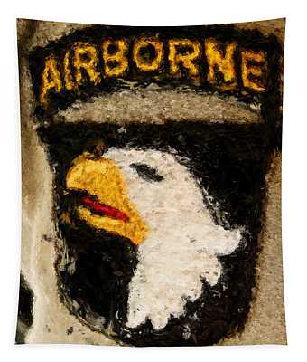 The 101st Airborne Emblem Painting Tapestry