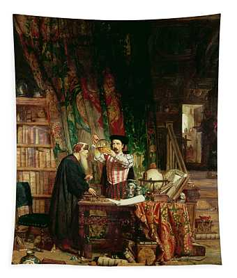 The Alchemist, 1853 Tapestry