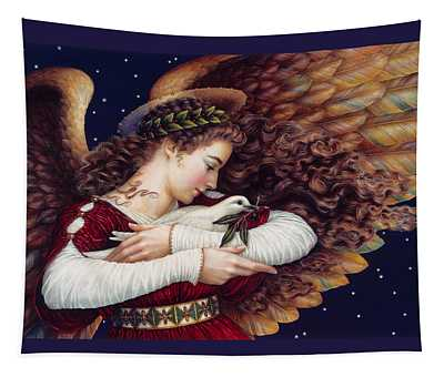 The Angel And The Dove Tapestry