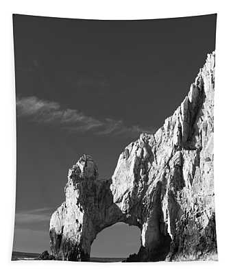 The Arch In Black And White Tapestry