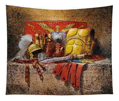 The Armour Of God Tapestry