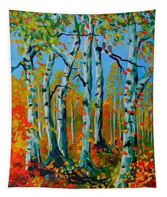 The Aspens Tapestry