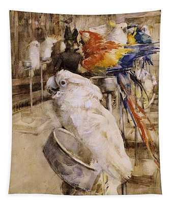 The Aviary, Clifton, 1888 Tapestry