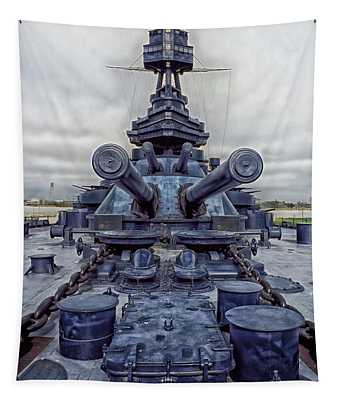The Battleship Texas Tapestry