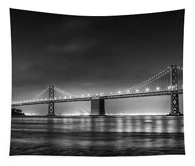 The Bay Bridge Monochrome Tapestry