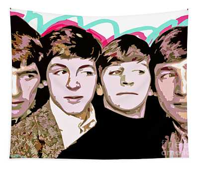 The Beatles Love Tapestry