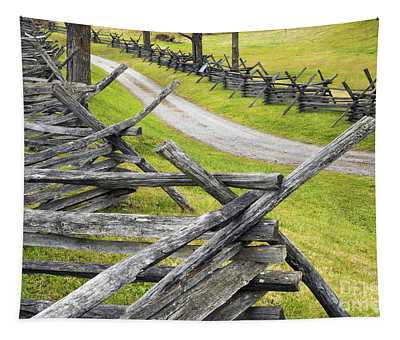 The Bloody Lane At Antietam Tapestry
