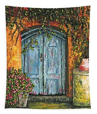The Blue Door Tapestry