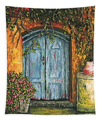The Blue Door Tapestry